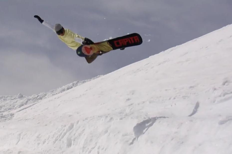 Folgefonna snowboard